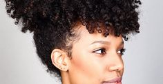 wash and go natural hair hair# Curly Hair Tips, Natural Hair Tips, Curly Hair Styles, Natural Hair Styles, Natural Beauty, Pineapple Hairstyle, Afro, Twisted Hair, Type 4 Hair