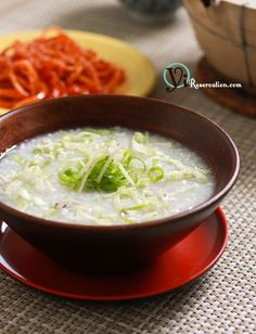 Congee with Minced Pork (瘦肉粥) -- Good reference as I make congee often