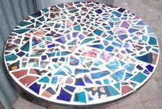 Risultati immagini per tavolo con piastrella ceramica fai da te