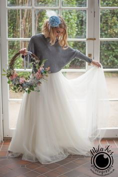 Rock the Frock dress complemented by my Flower Hoop and Fabric Hair Flower Flowers In Hair, Fabric Flowers, Bridal Wreaths, Frock Dress, Beauty Full, Flower Crown, Frocks, Bouquets, Photo Shoot