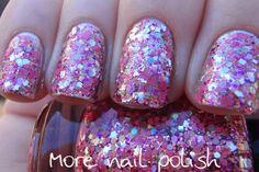 Princess Disco Hand made custom nail polish by GlimmerbyErica, $10.00