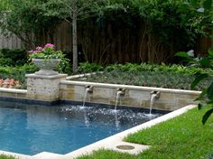 Poolside Paradise - Traditional - Landscape - Dallas - Kerry Burt & Associates