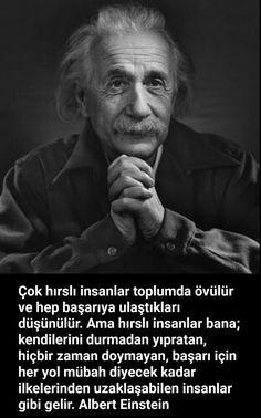#alberteinstein #özlüsözler #güzelsözler #anlamlısözler- corek-otu-yagi.com The Words, Cool Words, Wise Quotes, Famous Quotes, Philosophy Quotes, Einstein Quotes, Meaningful Quotes, Sentences, Quotations