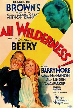 Ah Wilderness! Lionel Barrymore, Wallace Beery, Aline MacMahon. 1935