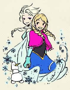 "Colored Princess Sketches [Part 1 of 2] "" Original Artwork: Érica Nagai | Tumblr | Portfolio | Original Post Coloring: Me (Rachel) | Tumblr | Colored with PicMonkey Part 2 Please, do not delete this..."