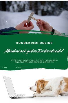 Hundekrimi ONLINE - ermittelt ab Samstag mit. Traut Euch! Ein mörderisch guter Zeitvertreib. Hundebeschäftigung & nette Menschen inklusive. Pooch Workout, People