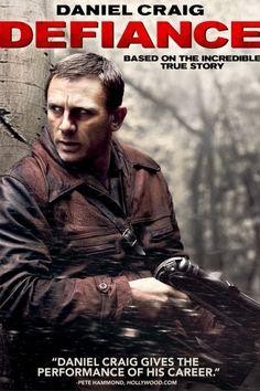Defiance (2008) Movie Poster - Jamie Bell, Daniel Craig, Liev Schreiber #Defiance, #2008, #MoviePoster, #ActionAdventure, #EdwardZwick, #DanielCraig, #Poster, #JamieBell, #LievSchreiber