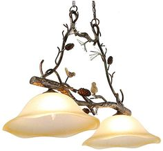 JUMRO 2 Lights Country Chandeliers, Farmhouse Kitchen Island Pendant Lighting American Rural Countryside Pine Cone Antler Chandeliers for Living Room,Bar,Cafe, Dining Room Country Chandelier, Antler Chandelier, Chandelier In Living Room, Chandeliers, Farmhouse Lighting, Farmhouse Decor, Country Farmhouse, Living Room Bar, Dining Room