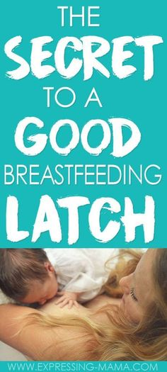 A good breastfeeding latch is essential for nursing your baby right. This post will help you perfect your latch technique with your newborn. You'll prevent sore nipple and help baby get more milk with these techniques. You'll learn: how to latch baby to t