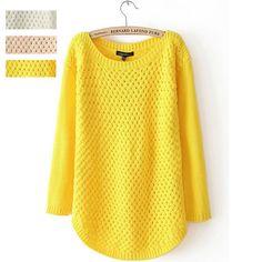 Pulls pour l'automne hiver crochet pull mode femme style coréen thicking chandails, sommets. manteau