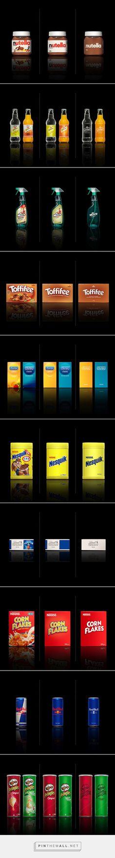 Minimalist Effect In The Maximalist Market by Mehmet Gözetlik #packaging - http://www.packagingoftheworld.com/2015/01/minimalist-effect-in-maximalist-market.html