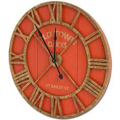 "Bolival II 36"" Wall Clock"