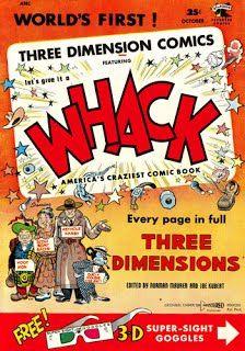 3-D Comic Books - 3dfilmarchive Crime Comics, Joe Kubert, Best Comic Books, The Three Stooges, Fun Comics, Golden Age, 3 D, Glitch, Ebay