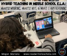 Hybrid Teaching: What's Working, What's Not, and What I'm Learning Middle School Ela, Middle School Teachers, English Language, Language Arts, Secondary Resources, 6th Grade Reading, M Learning, Teacher Created Resources, Independent Reading