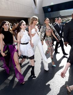 Taylor Swift, Lily Aldrige, Hailee Steinfeld, and Zendaya at the Billboard Music Awards. Taylor's squad the definition of squad goals #squadenvy (jk, my friends are the best)
