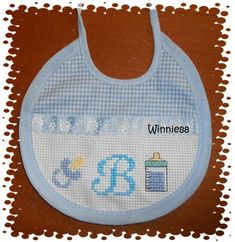 Palestinian Embroidery, Baby Born, Bibs, Couture, Cross Stitch, Baby Shower, Sewing, Easy Cross Stitch Patterns, Easy Cross Stitch