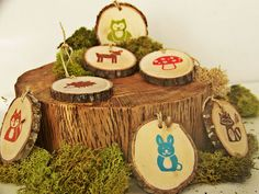 Woodland+Party+Favor+Bags++20+Personalized+by+MonkeysOnTheRoof,+$45.00
