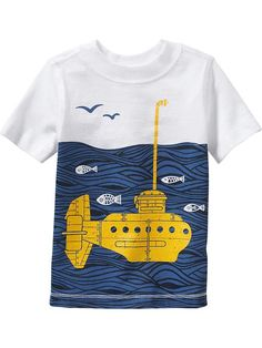 Submarine Graphic Tees for Baby Product Image