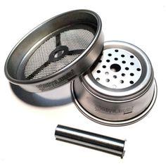 Hot Hookah Bowl Stainles Steell System Charcoal Holder Portable Head Burner 5pcs #YerliYerinde