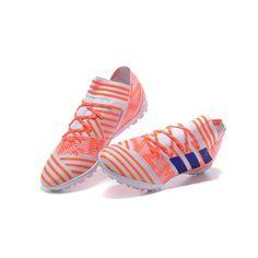 promo code dee26 e3785 Billiga Adidas Nemeziz 17.3 TF ACC Orange Vita Blå