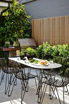 5 ideas for a simple and refined garden design. Styling by Adam Robinson. Photography by Natalie Hunfalvay.