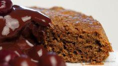 Lebkuchen-Dessert mit Schoko-Portwein-Kirschen von Le Bonheur Goûteux