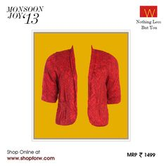 www.shopforw.com  Let everyday be a #fashion show with this edgy, reversible jacket.  Which lowers will you flaunt it with? #fashion #Wquotient #stylestatement