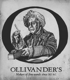 Ollivander's.    Makers Of Fine Wands Since 382 B.C.