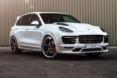 German tuning specialists Techart boosts the Porsche Cayenne Turbo's power to nearly 700bhp. CAR magazine UK reports