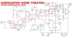 Subwoofer Home Theater Amplifier circuit is designed for subwoofer speaker system that used on Subwoofer Home Theater system.Using IC as a based filtering subwoofer signal input and as a buffer it's power amplifier Home Theater Amplifier, Home Theater Subwoofer, Home Theater Speakers, Home Automation Software, Home Automation System, Smart Home Automation, Best Subwoofer, Subwoofer Speaker, Electronic Circuit Design