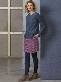 Thistledown print skirt | skirts | White Stuff