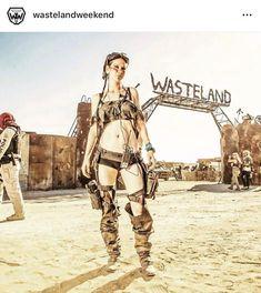 Post apocalyptic wasteland weekend dystopian fashion