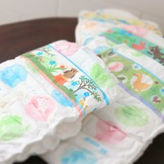 You can find more than 10 different kind of designs on GOO.N baby diapers.