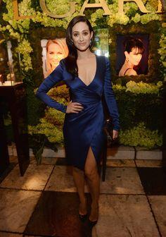 Emmy Rossum Photos - Inside the 'Decades of Glamour' Oscar Party - Zimbio