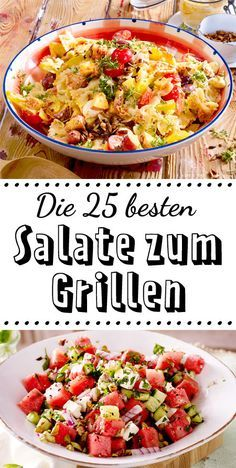 Salate Zum Grillen Das Schmeckt Zu Würstchen Steak Co Salate