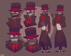 Black Hat by Erewann
