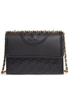 Tory Burch 'Fleming' Convertible Shoulder Bag available at #Nordstrom (In Nude)