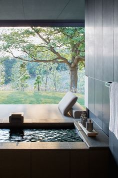 6 of the Most Luxurious Ryokans in Japan Ryokan, or traditional Japanese inns, are the pinnacle of Japanese hospitality. Here are 6 of the most luxurious ryokan with onsen (hot spring) baths in Japan. Design Hotel, House Design, Spa Interior Design, Spa Design, Tile Design, Design Bedroom, Outdoor Bathrooms, Luxury Bathrooms, Luxury Hotel Bathroom