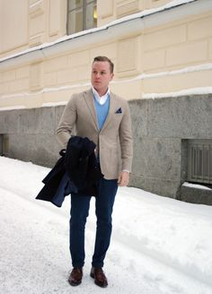 THE NORDIC FIT: Another Light Brown and Blue