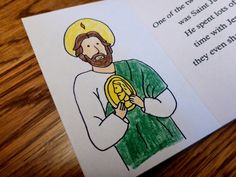 Drawn2BCreative: Free Saint Jude Mini Book