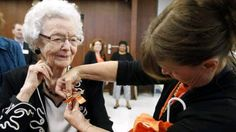 99 Year Old Gets High School Diploma  WATERLOO – Audrey Crabtree was just 19 years old when she got married and started a family 80 years ago. Back then it was customary for women to stay home and raise the household.  - See more at: http://www.ndjglobalnews.com/13019/99-year-old-gets-high-school-diploma.html#sthash.B2Ae2WxK.dpuf