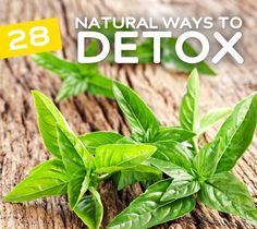 Many ways to detox (foods, drinks, baths, and more)
