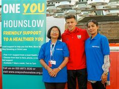 Brentford FC join forces with One You Hounslow for Stoptober