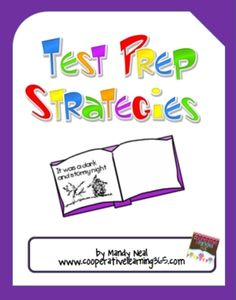Are you tired of reviewing the same way over and over again?  This Test Prep Strategies e-book contains strategies to engage your students with rev...