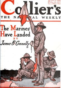 May 1917 Collier's Magazine cover