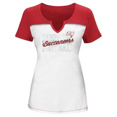 T-Shirt Tampa Bay Buccaneers White Xxl, Women's, Multicolored White