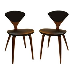 1958 475 pair chairs 475 cherner chairs design lata norman cherner