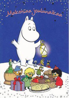 Moomin Christmas Postcard | Flickr - Photo Sharing!