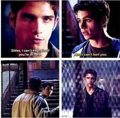 """And they're ALWAYS there for each other: 21 Reasons Why Scott And Stiles Are The Cutest Couple On """"Teen Wolf"""" Teen Wolf Ships, Teen Wolf Mtv, Teen Wolf Funny, Teen Tv, Teen Wolf Dylan, Teen Wolf Cast, Teen Wolf Quotes, Teen Wolf Memes, Tyler Posey"""