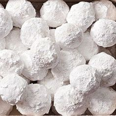 Snowballs - Christmas cookie classic!.